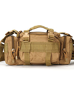 billiga Ryggsäckar och väskor-1 L Ryggsäckar / Verktygsväskor / Magväskor - Snabb tork, Bärbar Camping Nylon Svart, Kamoflage, Khaki grön