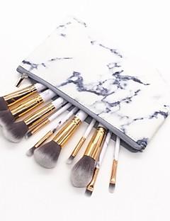 billiga Sminkborstar-10-Pack Makeupborstar Professionell Borstsatser / Rougeborste / Ögonskuggsborste Nylon fiber / Fiber Mjuk / Fullständig Täckning Plast