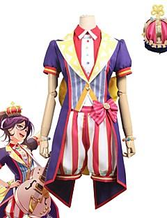 """billige Anime Kostymer-Inspirert av BanG Dream Cosplay Anime  """"Cosplay-kostymer"""" Cosplay Klær Annen Kortermet Frakk / Topp / Bukser Til Unisex Halloween-kostymer"""