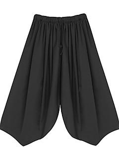 billige Herrebukser og -shorts-Herre Grunnleggende Bred Bukseben Bukser Ensfarget