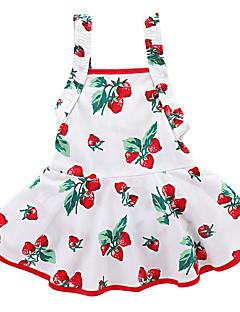 Χαμηλού Κόστους Πώληση-Μωρό Κοριτσίστικα Κεράσι Φρούτα Αμάνικο Φόρεμα