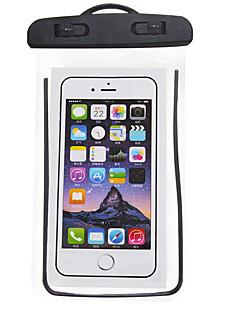 お買い得  防水バッグ & 防水ケース-携帯電話バッグ のために 携帯電話 防雨 / アンチスリップ / 防水ファスナー 6.5 インチ PVC 5 m
