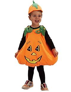billige Barnekostymer-Cosplay Kostume Gutt Barne Halloween Halloween Karneval Barnas Dag Festival / høytid Drakter Gul Ensfarget Halloween