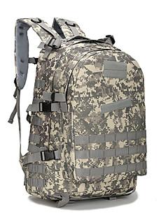 billiga Ryggsäckar och väskor-40 L Ryggsäckar - 3D Tablett, Bärbar Utomhus Camping, Resor, Trail Oxfordtyg Grov Svart, Khaki grön, Blå och Svart