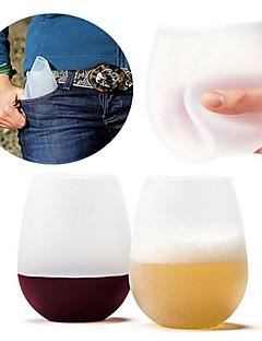 Χαμηλού Κόστους Πρωτότυπα Είδη για Ποτά-drinkware Σιλικόνη πλήρους σώματος Είδη Καθημερινών Ροφημάτων / Πρωτότυπα Είδη για Ποτά / Κούπες Τσαγιού Φορητό / Πίεση / δώρο Boyfriend 1 pcs