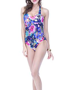 billige Bikinier og damemote 2017-Dame En del Cheeky Blomstret