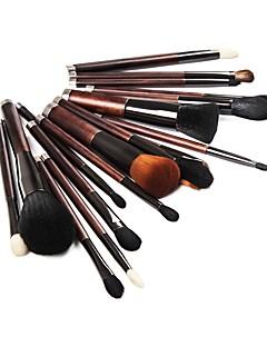 billige Sminkebørstesett-21pcs Makeup børster Profesjonell Hudpleie Full Dekning Tre / Bambus