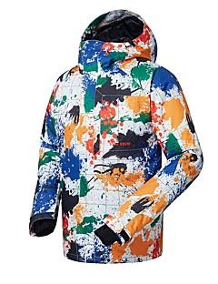 billiga Skid- och snowboardkläder-GSOU SNOW Herr Skidjacka Skidglasögon, Skidåkning, Vintersport Skidåkning / Vintersport POLY Överdelar Skidkläder