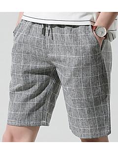 billige Herrebukser og -shorts-Herre Grunnleggende Shorts Bukser Stripet