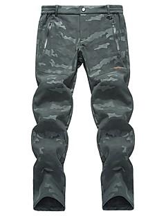 tanie Turystyczne spodnie i szorty-Unisex Spodnie turystyczne Na wolnym powietrzu Odporność na wiatr, Ochrona przed deszczem, Oddychalność Zima Spandeks Spodnie Narciarstwo / Wędkarstwo / Piesze wycieczki / Elastyczny / Odporny na UV