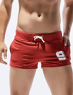 billige Herrebukser og -shorts-Herre Bomull Shorts Bukser Geometrisk