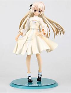 billige Anime cosplay-Anime Action Figurer Inspirert av Yosuga no Sora Kasugano Sora PVC 20 cm CM Modell Leker Dukke Unisex