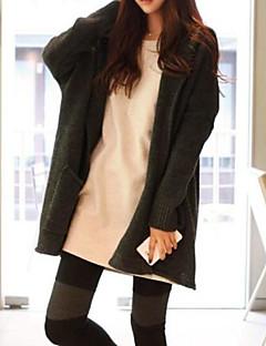 baratos Suéteres de Mulher-Mulheres Moda de Rua Carregam - Sólido