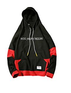 baratos Moletons com Capuz e Sem Capuz Femininos-hoodie de manga comprida feminina - carta com capuz