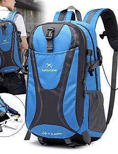 billiga Ryggsäckar och väskor-55 L Ryggsäckar / Ryggsäck - Regnsäker, Snabb tork, Bärbar Utomhus Camping, Resor Nylon Röd, Grön, Blå