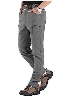baratos Calças e Shorts para Trilhas-Homens Calças de Trilha Ao ar livre A Prova de Vento, Secagem Rápida, Respirabilidade Outono, Verão, Inverno Elastano Calças Exercicio Exterior L XL XXL