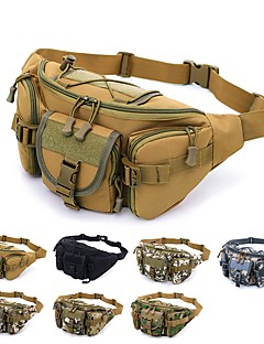 billiga Ryggsäckar och väskor-3.5 L Midjeväska - Regnsäker, Bärbar Utomhus Camping oxford Blå, Grå, Kamoflage