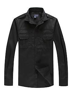 tanie Koszule turystyczne-Unisex Koszula turystyczna Na wolnym powietrzu Ochrona przed deszczem, Anatomiczny kształt, Zdatny do noszenia Koszula N / Piesze wycieczki / Ćwiczenia na zewnątrz / Strzelanie