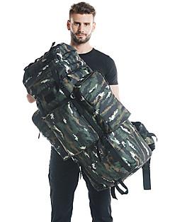 billiga Ryggsäckar och väskor-100 L Ryggsäckar / Ryggsäck - Regnsäker, Bärbar, Mateial som andas Utomhus Camping, Militär, Resor Nylon Grön, Grön / Svart, Khaki grön