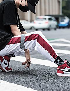 358ee92e38ecb Hombre Beam Foot Pantalones de Running - Blanco