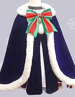"""billige Anime cosplay-Inspirert av Fate / zero Saber Anime  """"Cosplay-kostymer"""" Cosplay Klær Sløyfeknute Skjørte / Hansker / Beinvarmere Til Dame Halloween-kostymer"""