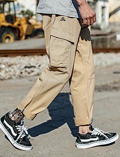 tanie Odzież turystyczna-Męskie Turistické kalhoty Na wolnym powietrzu Zdatny do noszenia Spodnie Wędkarstwo / Piesze wycieczki / Chodzenie