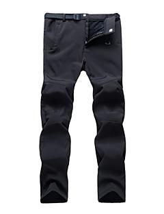 tanie Turystyczne spodnie i szorty-Męskie Spodnie turystyczne Na wolnym powietrzu Ochrona przed deszczem Jesień, Zima Spodnie, Doły Piesze wycieczki Ćwiczenia na zewnątrz Kemping L XL XXL