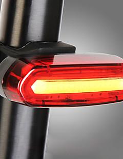 povoljno Biciklizam-Stražnje svjetlo za bicikl LED Svjetla za bicikle Biciklizam Vodootporno, Prijenosno, Slatko Punjiva Lithium-ion baterija 120 lm Kampiranje / planinarenje / Speleologija / Biciklizam