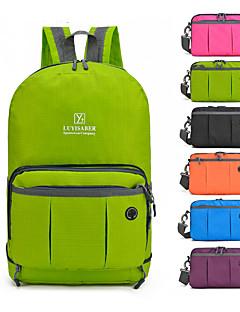 billiga Ryggsäckar och väskor-30 L Ryggsäckar / Axelremsväska - Lättvikt, Regnsäker, Bärbar Utomhus Camping, Strand, Resor Nylon Grön, Blå, Grå