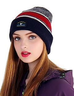 billige Clothing Accessories-VEPEAL Turcaps Skelett Caps Hatt Vindtett Hold Varm Stretch Vinter Rød Unisex Vandring Reise Vintersport Lapper Tenåring Voksne / Elastisk