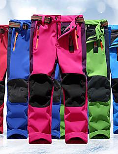 baratos Calças e Shorts para Trilhas-Para Meninos / Para Meninas Calças de Trilha Ao ar livre A Prova de Vento, Á Prova-de-Chuva, Vestível Calças Pesca / Equitação / Campismo / Com Stretch