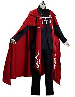"""billige Anime Kostymer-Inspirert av Fate / zero Cosplay Anime  """"Cosplay-kostymer"""" Cosplay Klær Trykt mønster Frakk / Topp / Bukser Til Dame"""