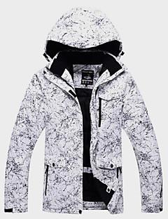 billiga Skid- och snowboardkläder-Unisex Skidjacka Vindtät, Vattentät, Håller värmen Skidåkning / Vintersport / Utomhus Vinterjacka Skidkläder