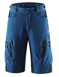 aae7fbfee Arsuxeo Men s Cycling MTB Shorts - Dark Gray Royal Blue Dark Green Solid  Color Bike Shorts MTB Shorts Breathable Quick Dry Waterproof Zipper Sports  ...