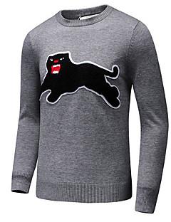 baratos Suéteres & Cardigans Masculinos-Homens Activo Pulôver - Animal