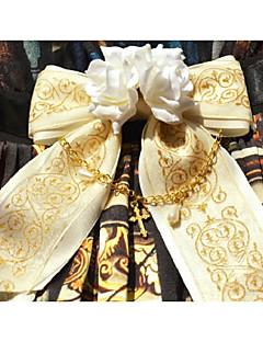 billiga Lolitamode-Vintage Elegant Dam Rosa / Fuschia / Bläck blå Blommig Midje accessoar Legering Halloweenkostymer