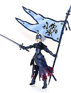 billige Anime cosplay-Anime Action Figurer Inspirert av Skjebne / Grand Order Jeanne d'Arc PVC 12 cm CM Modell Leker Dukke