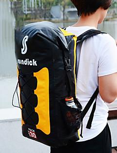 billiga Ryggsäckar och väskor-30 L Vattentät Packpåse - Regnsäker, Torkar snabbt, Bärbar Utomhus Fiske, Camping, Klättring Nät Gul, Blå