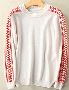 tanie Swetry damskie-Damskie Podstawowy Pulower Solidne kolory