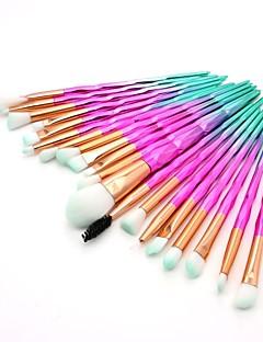 billiga Sminkborstar-20pcs Makeupborstar Professionell Rougeborste / Ögonskuggsborste / Läppensel Nylon fiber Fullständig Täckning