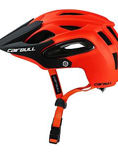 billiga Cykling-CAIRBULL Vuxen / Medelsvårt cykelhjälm / BMX Hjälm 18 Ventiler ESP+PC, PC sporter Utomhusträning / Cykling / Cykel / Cykel - Grön / Blå / Mörkgrå Unisex