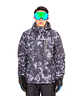 billiga Skid- och snowboardkläder-Herr klår upp / Huvtröja och sweatshirt / Skidjacka Avtagbar huva, Skidåkning, Vintersport Camping / Skidåkning / Utomhusträning Polyester, Miljövänlig Polyester, Terylen Träningsoverall / Vindjackor