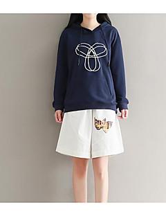 tanie Damskie bluzy z kapturem-Damskie Aktywny Bluza z Kapturem - Solidne kolory