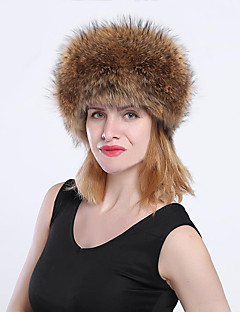 billige Hatter til damer-Dame Vintage / Fest Jegerhatt Ensfarget