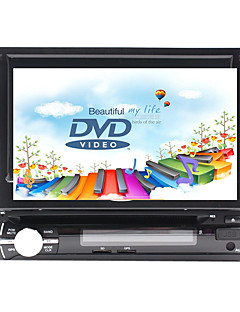 Χαμηλού Κόστους Αυτοκίνητα-7 inch 1 Din Windows CE In-Dash DVD Player GPS / Οθόνη Αφής / Ενσωματωμένο Bluetooth για Universal Υποστήριξη / Αποσπώμενο Πάνελ / Υποστήριξη SD / USB / 800 x 480 / Γερμανικά / Ρώσικα