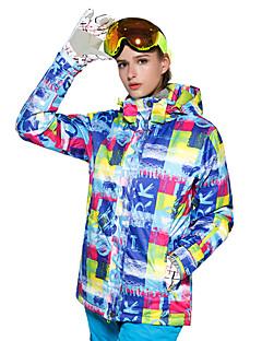 billiga Skid- och snowboardkläder-Dam Skidjacka Varm, Ventilerande, Vindtät Skidåkning / Multisport / Vintersport Polyester, Mesh Dunjackor Skidkläder