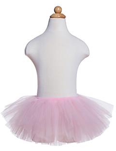 tanie Dziecięca odzież do tańca-Balet Doły Dla dziewczynek Szkolenie / Spektakl Tiul Jak fala / Gore Tutu