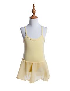 tanie Stroje baletowe-Balet Sukienki Dla dziewczynek Szkolenie / Spektakl Bawełna / Żorżeta Gore Bez rękawów Sukienka
