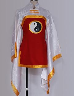 """billige Anime Kostymer-Inspirert av Cardcaptor Sakura Li Meiling Anime  """"Cosplay-kostymer"""" Cosplay Klær Spesielt design Mer Tilbehør / Kostume Til Herre / Dame"""