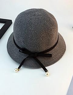 billige Hatter til damer-Dame Grunnleggende Solhatt Trykt mønster